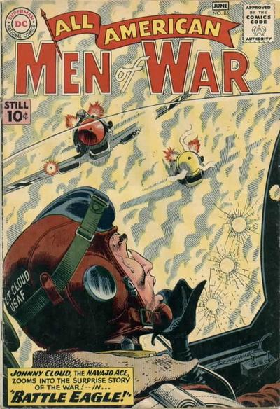 Cover for All-American Men of War (DC, 1953 series) #85