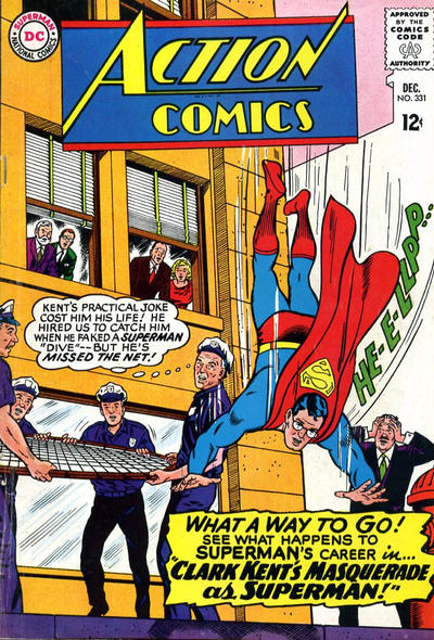 Cover for Action Comics (DC, 1938 series) #331