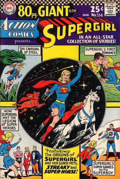 Cover for Action Comics (DC, 1938 series) #334
