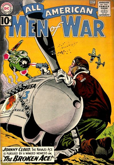 Cover for All-American Men of War (DC, 1953 series) #87