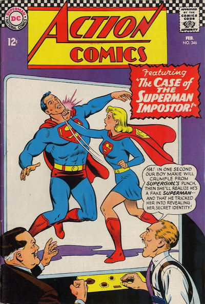 Cover for Action Comics (DC, 1938 series) #346