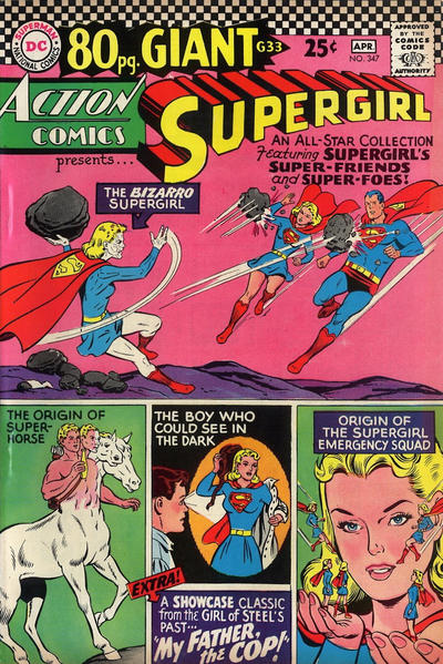 Cover for Action Comics (DC, 1938 series) #347