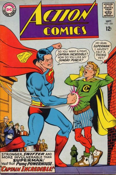 Cover for Action Comics (DC, 1938 series) #354