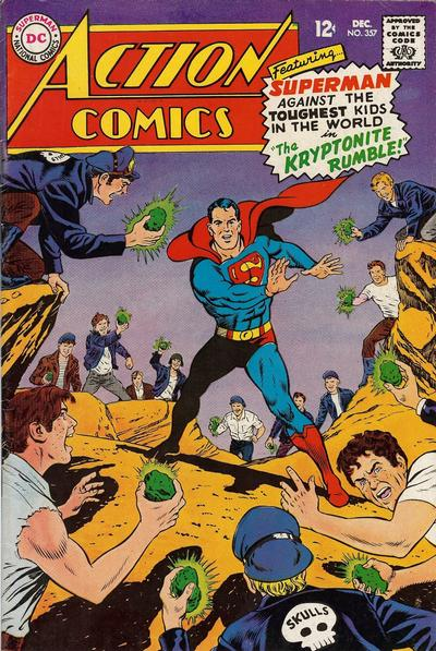 Cover for Action Comics (DC, 1938 series) #357