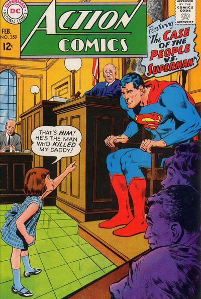 Cover for Action Comics (DC, 1938 series) #359