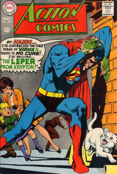 Cover for Action Comics (DC, 1938 series) #363