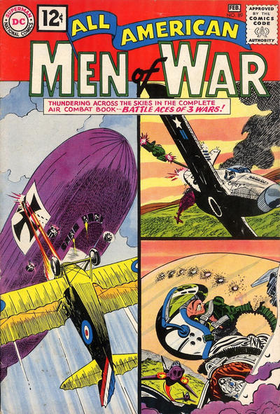 Cover for All-American Men of War (DC, 1952 series) #89
