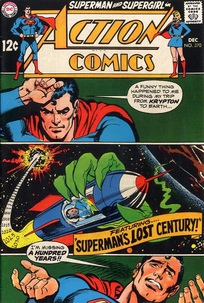 Cover for Action Comics (DC, 1938 series) #370