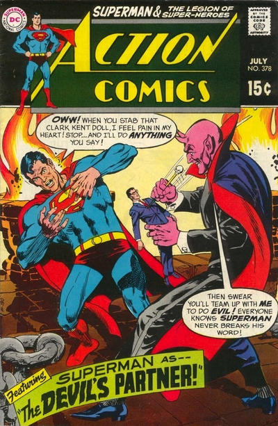 Cover for Action Comics (DC, 1938 series) #378