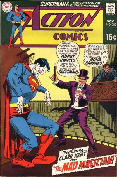 Cover for Action Comics (DC, 1938 series) #382