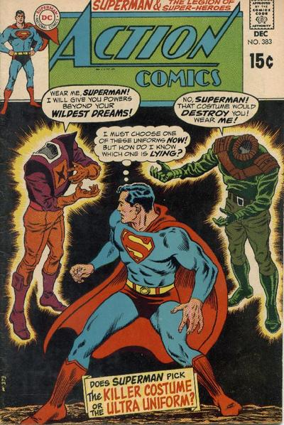 Cover for Action Comics (DC, 1938 series) #383