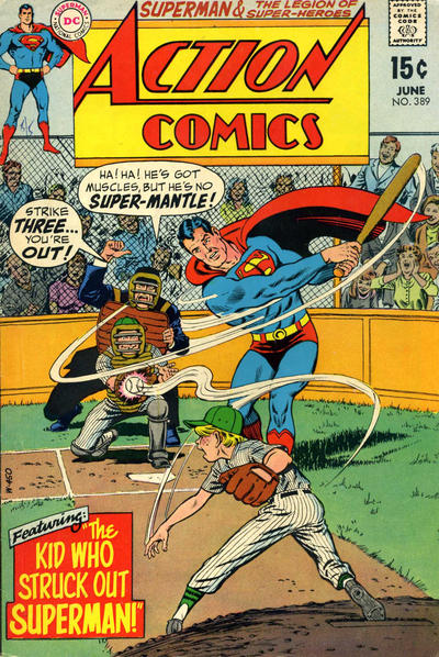 Cover for Action Comics (DC, 1938 series) #389