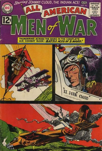 Cover for All-American Men of War (DC, 1953 series) #92
