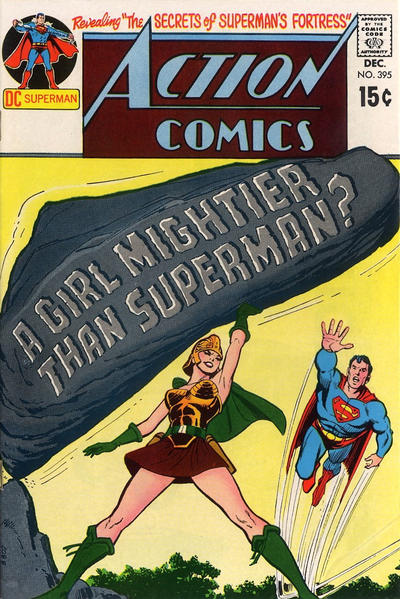Cover for Action Comics (DC, 1938 series) #395
