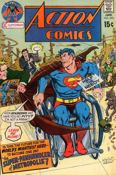Cover for Action Comics (DC, 1938 series) #396