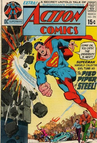 Cover for Action Comics (DC, 1938 series) #398