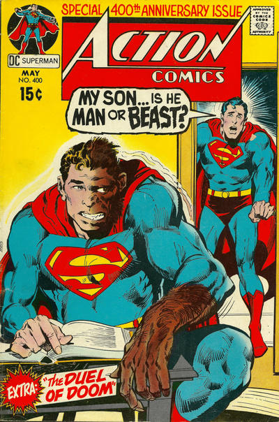 Cover for Action Comics (DC, 1938 series) #400