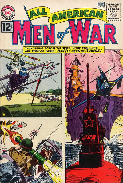 Cover for All-American Men of War (DC, 1953 series) #93