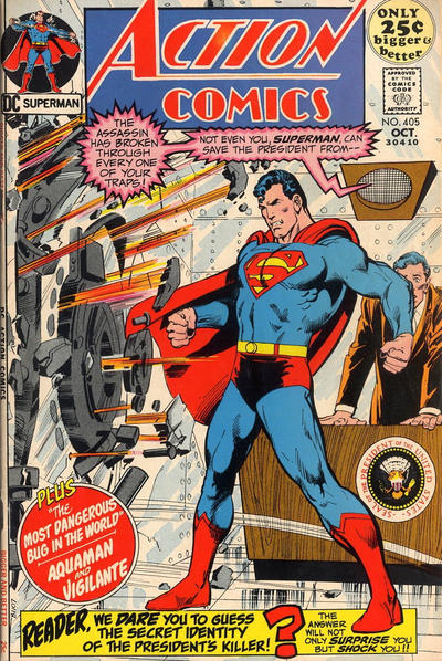 Cover for Action Comics (DC, 1938 series) #405