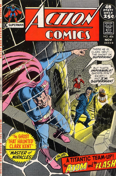 Cover for Action Comics (DC, 1938 series) #406