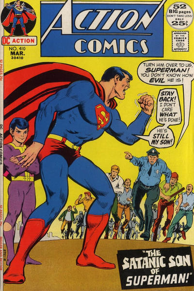 Cover for Action Comics (DC, 1938 series) #410
