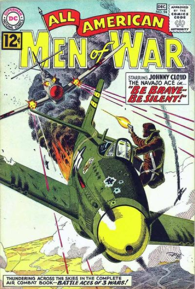 Cover for All-American Men of War (DC, 1953 series) #94