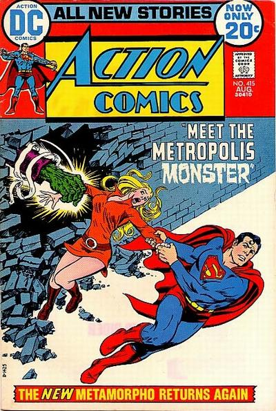 Cover for Action Comics (DC, 1938 series) #415