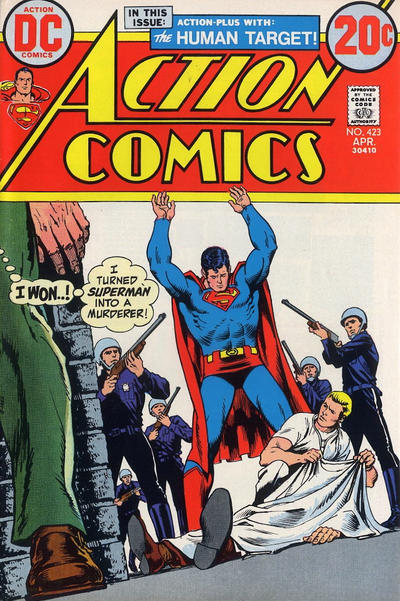 Cover for Action Comics (DC, 1938 series) #423