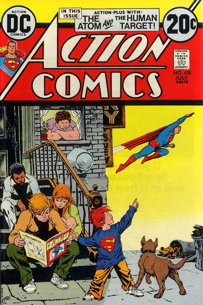 Cover for Action Comics (DC, 1938 series) #425