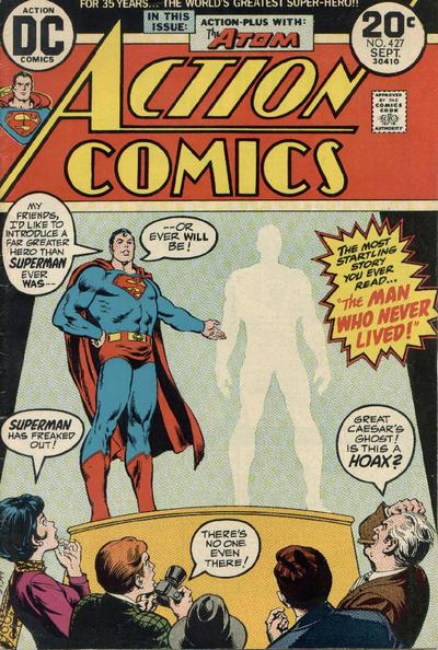Cover for Action Comics (DC, 1938 series) #427