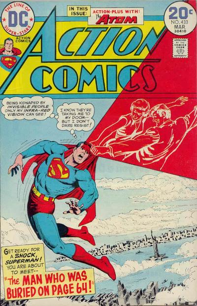 Cover for Action Comics (DC, 1938 series) #433
