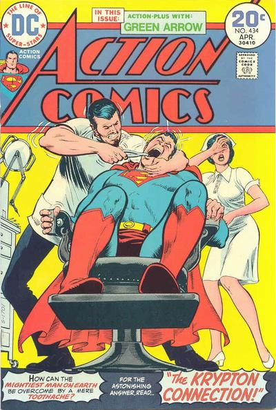 Cover for Action Comics (DC, 1938 series) #434