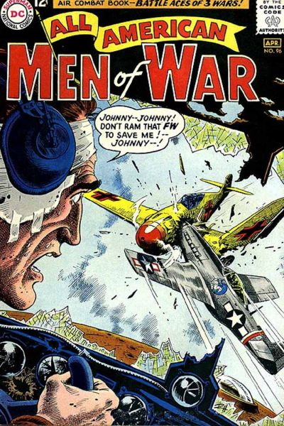 Cover for All-American Men of War (DC, 1953 series) #96
