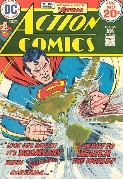 Cover for Action Comics (DC, 1938 series) #435