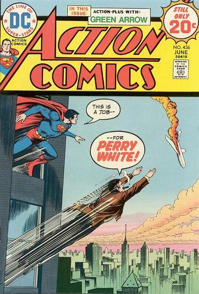 Cover for Action Comics (DC, 1938 series) #436