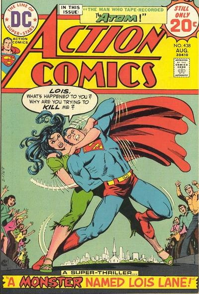 Cover for Action Comics (DC, 1938 series) #438