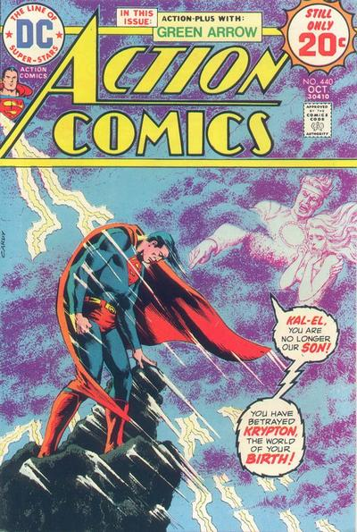 Cover for Action Comics (DC, 1938 series) #440