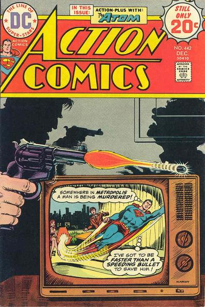Cover for Action Comics (DC, 1938 series) #442