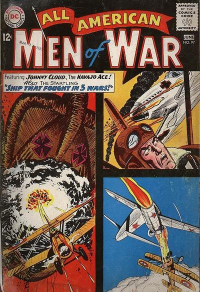 Cover for All-American Men of War (DC, 1953 series) #97