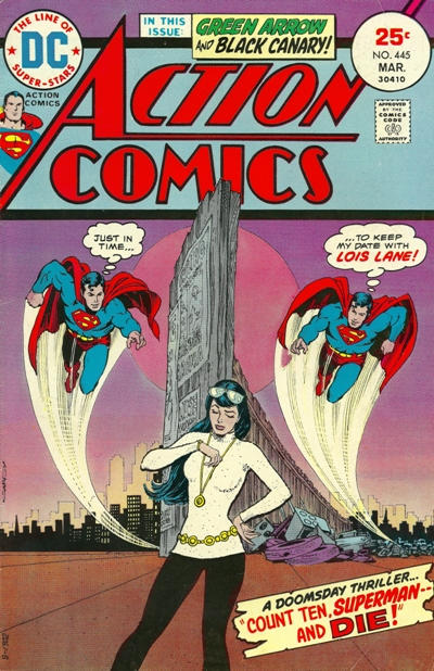 Cover for Action Comics (DC, 1938 series) #445