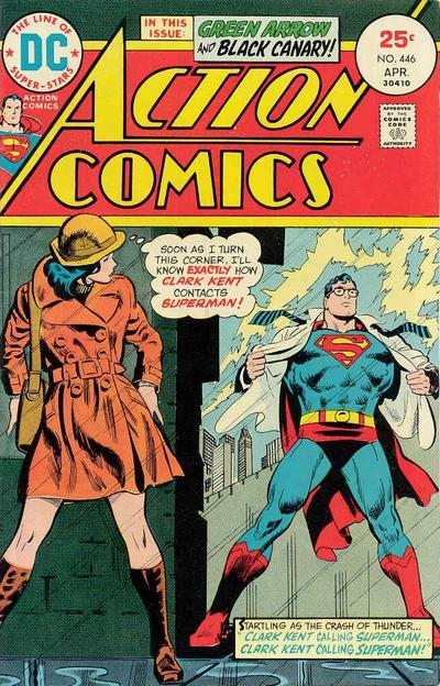 Cover for Action Comics (DC, 1938 series) #446