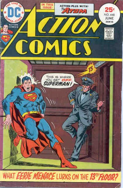 Cover for Action Comics (DC, 1938 series) #448