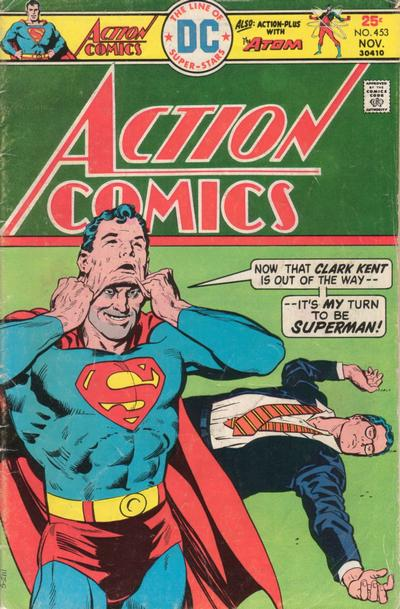 Cover for Action Comics (DC, 1938 series) #453