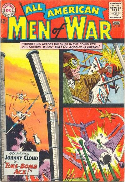 Cover for All-American Men of War (DC, 1953 series) #98