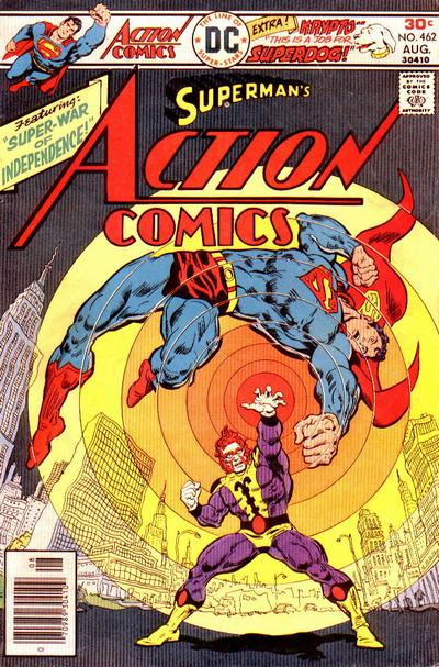 Cover for Action Comics (DC, 1938 series) #462