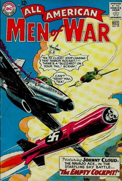 Cover for All-American Men of War (DC, 1952 series) #99