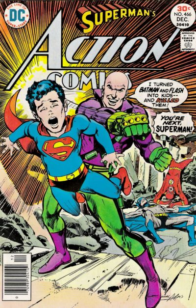 Cover for Action Comics (DC, 1938 series) #466