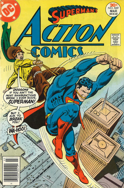 Cover for Action Comics (DC, 1938 series) #469