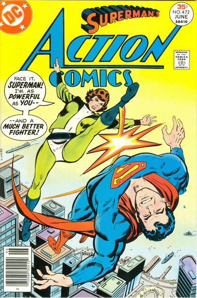Cover for Action Comics (DC, 1938 series) #472