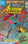 Cover Thumbnail for Action Comics (1938 series) #517 [Newsstand]